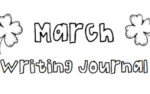 March Writing Journal {Freebie}