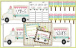New math & literacy centers, Linky Party, & {freebie}
