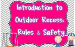 Completed Recess Packet & Freebie