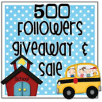 500 Followers Giveaway & Sale
