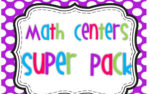 Math Centers Super Pack!