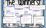 500 Followers Giveaway Winners!
