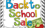 Back to School Sale!!