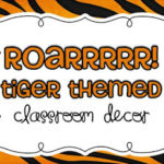 Roarrr!  Tiger Themed Classroom & Math Challenges! {freebies inside}