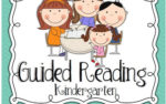 Guided Reading in Kindergarten {freebies}