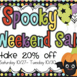 Spooky Weekend Sale!