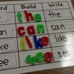 Word Work & New Math Centers!