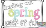 Bring on Spring- – Week of Giveaways 1 &2 !