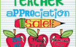 Teacher Appreciation Sale!