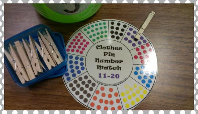Kindergarten Math Centers - Little Minds at Work