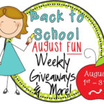 Back to School August Fun! Giveaways & more!