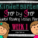 Guided Reading Step by Step lesson plans for YOU!