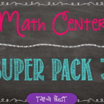 Math Centers Super Pack #3
