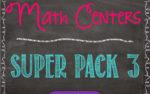 Math Centers Super Pack #3