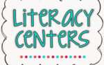 Literacy Center Updates {freebie too!}