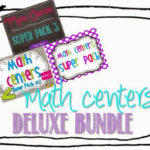 New Math Centers?  Yes, Please! {freebies too}