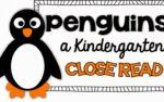 Penguin Close Read {a freebie}