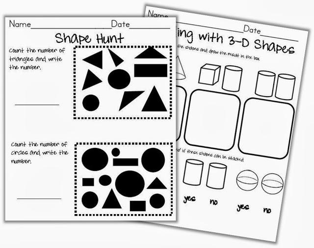 All Worksheets 3d Shapes Worksheets First Grade Free Printable – 3d Shapes Kindergarten Worksheets