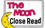 The Moon Close Read {writing freebie included}