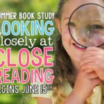 Closing Reading – – Summer Book Study!