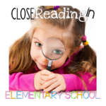 Close Reading Book Study {Chapter Four}