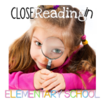 Close Reading Book Study {Chapter One}