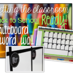 Getting the Classroom Back to School Reading {Word Wall}