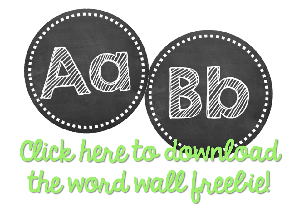 Getting the Classroom Back to School Reading Word Wall} Little