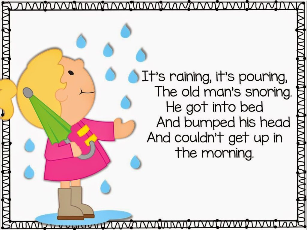 This Year My Kiddos Will Be Introduced To One New Poem Nursery Rhyme Each Week I Am So Excited About The Poems Are All Aligned Close