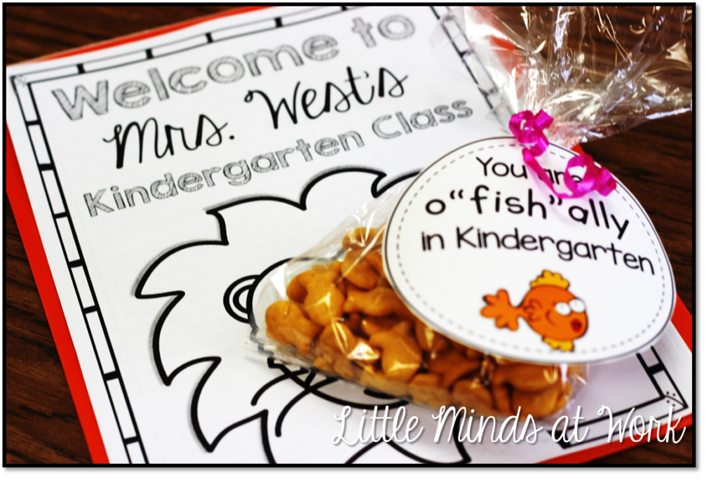 Freebie Treat Bag Tags for Meet the Teacher Night - Little