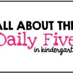 Daily Five Virtual Presentation {freebies too}