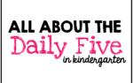 Daily Five Virtual Presentation {freebies too}