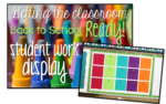 Getting the Classroom Back to School Ready {student work display}