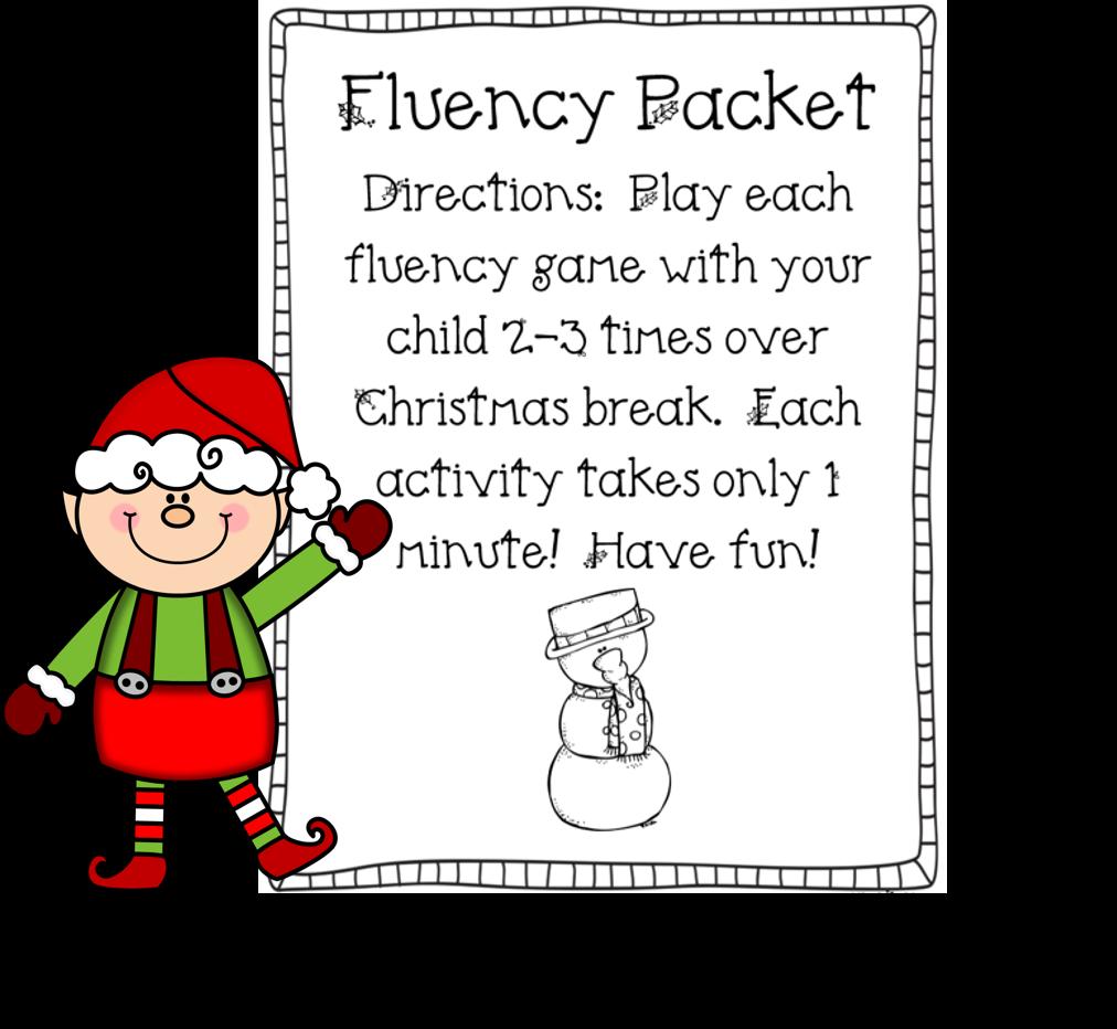 http://www.teacherspayteachers.com/Product/Christmas-Fluency-Packet-FREEBIE-995455