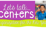 Let's talk centers {freebies too}!