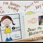 Friendly Letter Writing  {a freebie}