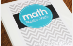 Organizing the Math Practice Sheets Bundle {with a freebie}