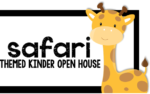 Kindergarten Spring Open House! {a safari themed adventure}