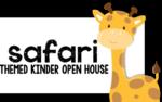 Kindergarten Spring Open House! {a safari themed adventure}