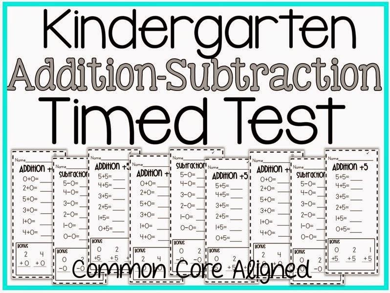 Timed subtraction worksheets for 1st grade