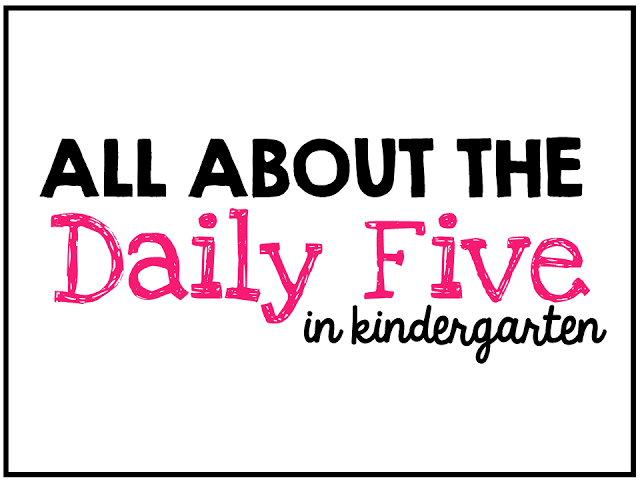 The Daily Five {a look at the first month} - Little Minds at