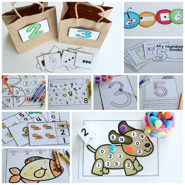 All About Numbers! {freebie too} - Little Minds at Work