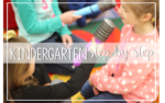 Kindergarten Step by Step: Edition One {Schedules}