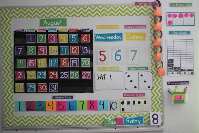 Kindergarten Calendar Time Routine : Kindergarten step by week rainbow fish little