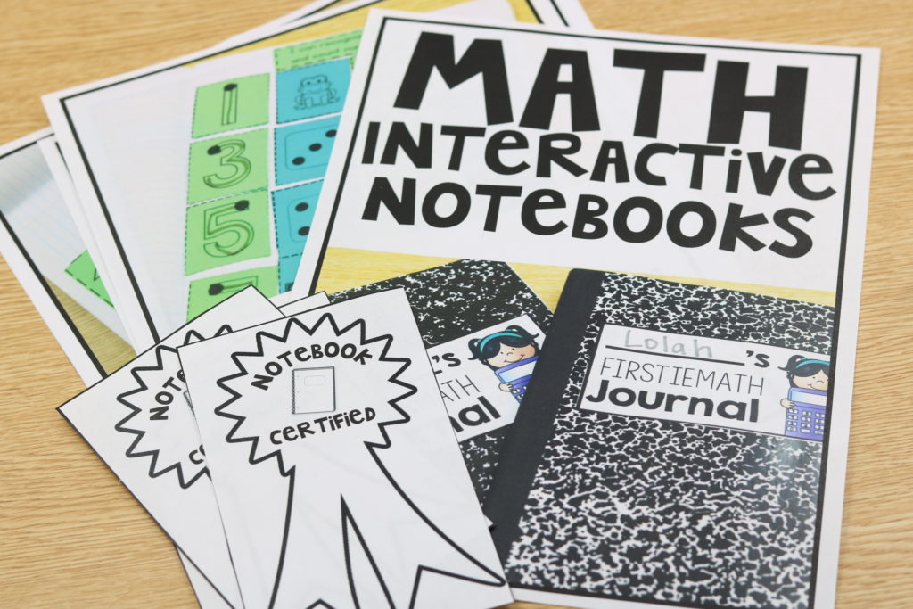 kindergarten interactive notebook