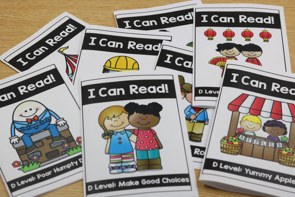Kindergarten guided reading