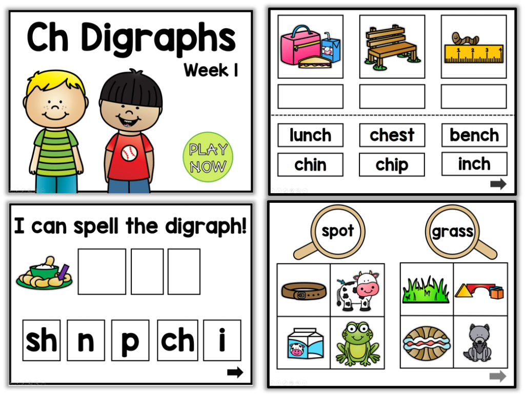 Primary Blends and Digraphs (+ a freebie) - Little Minds at Work