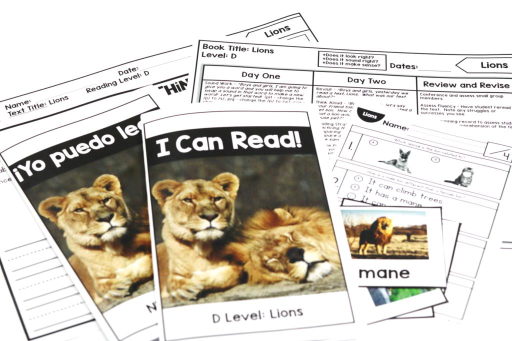kindergarten nonfiction readers