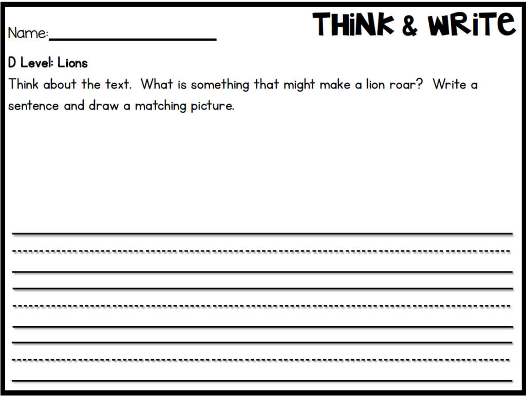 Lets talk guided reading freebies giveaway included little mix and fix sentences are also included in level d they are included for your choice to use or not use you can have kiddos paste these onto an extra sheet geenschuldenfo Images