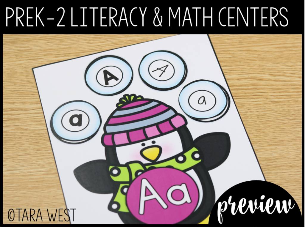 Winter Centers with a Freebie Preview and Giveaway!